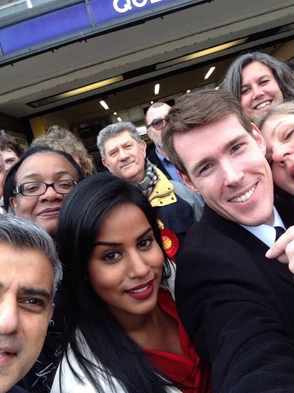 Labour selfie