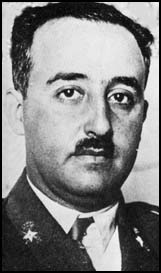 General Francisco Franco continuing the noble tradition of dictators who look suspiciously like music hall comics
